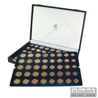 Schaubek Numismatik Münzkollektion Münzkassette Euro-Kursmünzen F. 15 Kursmünzensätze 19121 - Supplies And Equipment