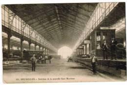 Brussel, Bruxelles, Intérieur De La Nouvelle Gare Maritime (pk5826) - Maritiem