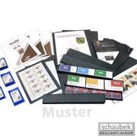 Schaubek CS2124 Schauclip Mounts 21 Mm X 24 Mm - Black (pack Of 50 Pieces) - Clear Sleeves