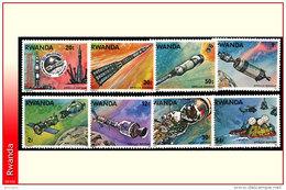 Rwanda 0773/80**  Apollo-Soyouz  MNH - Rwanda