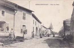 CPA.  REHAINCOURT. RUE DU BOIS. - France