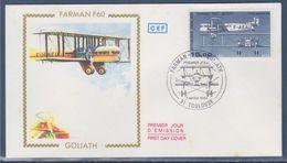 = Avion Farman F 60 Goliath Enveloppe 1er Jour 31 Toulouse 3.3.84 N°PA57b - Luchtpost