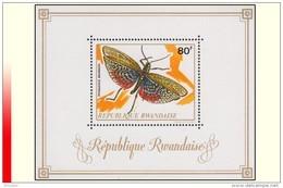Rwanda BL 027** Insecte MNH - Rwanda