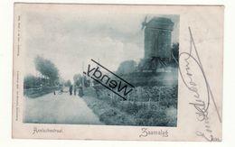 Zaamslag - Axelschestraat Met Windmolen - Taxe 5ct - Terneuzen