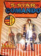 5-STAR COMANDO RED HORSE HEAD MOTORCYCLE - Giocattoli Antichi