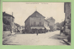 PONT DE CHERUY : Le Centre, Hôtel De Lyon. 2 Scans. Edition Vialatte - Pont-de-Chéruy