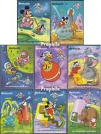 Redonda 303-310 (completa Edizione) MNH 1989 Walt-Disney-Cifre - Antigua E Barbuda (1981-...)