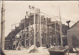 3 PHOTOS--BELLE ANIMATION ( Construction Béton Armé )--voir 6 Scans - Métiers