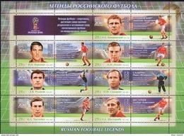 Russia, 2016, Mi. 2395-2401, The 2018 FIFA World Cup, Football Legends, MNH - 1992-.... Federation