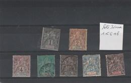 Côte D' Ivoire - Yvert  1 à 6 + 8 - 2 Scan - Côte-d'Ivoire (1892-1944)