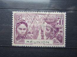 VEND BEAU TIMBRE DE LA REUNION N° 120 , (X) !!! - Reunion Island (1852-1975)