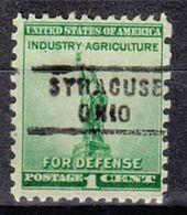 USA Precancel Vorausentwertung Preo, Locals Ohio, Syracuse 743 - Vereinigte Staaten