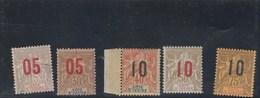 Côte D' Ivoire - Yvert  21 à 29 - 2 Scan - Côte-d'Ivoire (1892-1944)