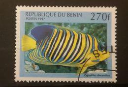 FRANCOBOLLI STAMPS BENIN AFRICA 1997 SERIE PESCI - Benin – Dahomey (1960-...)