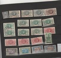 Côte D' Ivoire - Lot De 21 Timbres Dont Paire N° 24 Et 2 N° 57 - Côte-d'Ivoire (1892-1944)