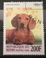 FRANCOBOLLI STAMPS BENIN AFRICA 1998 SERIE CANI - Benin - Dahomey (1960-...)
