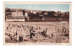 22 Saint Cast La Plage Hotel Beausejour Et Les Villas De L' Isle Club Plage Gymnastique Suedoise - Saint-Cast-le-Guildo