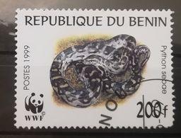 FRANCOBOLLI STAMPS BENIN AFRICA 1999 SERIE SERPENTI - Benin – Dahomey (1960-...)