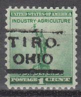USA Precancel Vorausentwertung Preo, Locals Ohio, Tiro 521,5 - Vereinigte Staaten