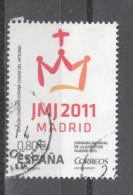 Spagna   -   2011.  JMJ.  Giorno Mondiale Della Gioventù. World Youth Day - Childhood & Youth