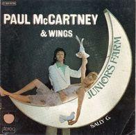 Disque 45 Tours PAUL MC CARTNEY & WINGS (1974 APPLE RECORD)  - 2 Titres - Rock