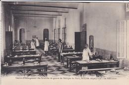 ALGERIE-ALGER-KOUBA--le Réfectoire--centre D'hébergement Des Invalides De Guerre De L'afrique Du Nord- Voir 2 Scans - Alger