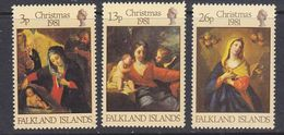 Falkland Islands 1981 Christmas 3v ** Mnh (37825N) - Falklandeilanden