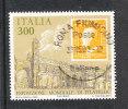 """Italia   -   1985.  Expo Filatelica  """" Italia '85 """".  Francobollo Regno  Sicilie   Su Francobollo. Lusso - 6. 1946-.. Republic"""