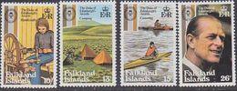 Falkland Islands 1981 Duke Of Edinburgh Awards 4v ** Mnh (37825P) - Falklandeilanden