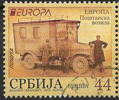 2013 Serbien  Mi. 501 Used Europa Postfahrzeuge - Europa-CEPT