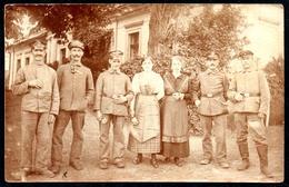 B1841 - Riegersdorf - Rudziczka  - 8.9.1918 - 1. WK WW Soldaten Unifrom - Gel Watha Bz. Breslau - Schlesien