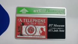 United Kingdom-(btc072)museumi Your Home-(20units)-(302e)-price Cataloge6.00£-card+1card Prepiad Free - United Kingdom