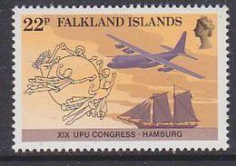 Falkland Islands 1984 UPU 1v ** Mnh (37826) - Falklandeilanden