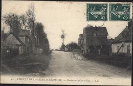 CPA Circuit De La Seine Inférieure Graincourt Côte D'Eu LL  Course Automobile Voyagée - France