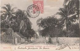 REUNION - Carte Postale De ST PIERRE à Destination De Nice - Réunion (1852-1975)