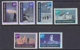 Ross Dependency 1996 Gletscherlandschaften 6v ** Mnh (37826D) - Ross Dependency (Nieuw-Zeeland)