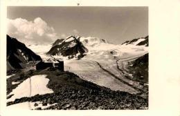 Braunschweiger-Hütte - Mittelbergferner Und Wildspitzmassiv (30030) * 26. 8. 1939 - Pitztal