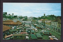 CPSM WEST INDIES - GRENADA - GRENADE - ST. GEORGE'S ( The Spice Island ) - Main Square And Market Place - TB ANIMATION - Grenada