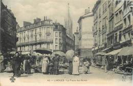 France - 87 - Limoges - La Place Des Bancs - Edit Du Trèfle N° 42 - Limoges