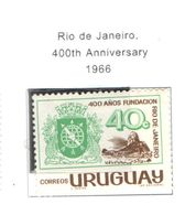 Uruguay PO 1966 Rio 400 Ann. Scott.729 Nuovo See Scans On Scott.Page - Uruguay