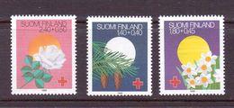 FINLANDE 1988 FETES-CROIX ROUGE   YVERT N°1008/10  NEUF MNH** - Cruz Roja