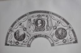 GRAVURE 763 / EVENTAIL OFFERT A Mme BONAPARTE Par JEAN GODEFROY Né à LONDRES En 1771 - Prints & Engravings