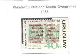 Uruguay PO 1966 Mostra Fil. Ovpr. Scott.736 Nuovo See Scans On Scott.Page - Uruguay