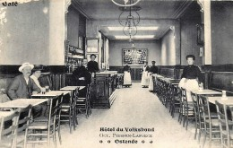 Ostende - Hôtel Du Volksbond - Intérieur - Traces D'usure Coin Gauche - Dans L'état - Oostende