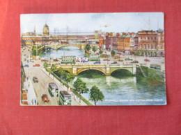O'Connell Bridge Corner Crease> Ireland > Dublin --- Ref 2874 - Dublin