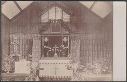 Altar, Unidentified Church, C.1910s - RP Postcard - To Identify