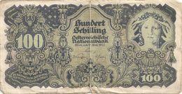 Autriche  100 Schilling 29 Mai 1945 Hundert Schilling  Tb - Austria