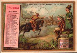 1 Chromos Liebig - S210 - Calandrier Novembre 1888 - Bill-839 - R/V - Liebig