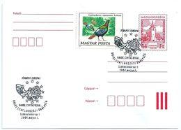 9801 Hungary SPM Fauna Animal Bird Organization EU Architecture Religion - Institutions Européennes