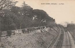 34/ Saint Aunes - Le Parc - Avec Vie Des Rails Et Du Train - Autres Communes
